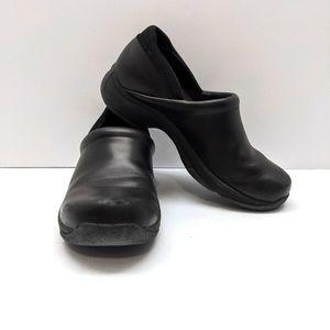 DANSKO Clogs Womens  Size 37 Black Leather Kelsey
